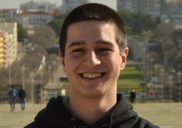 Muttersprachler António gibt Portugiesischnachhilfe in München