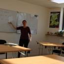 Langjährige Lehrerin Annette gibt Deutsch-Unterricht in Lenggries